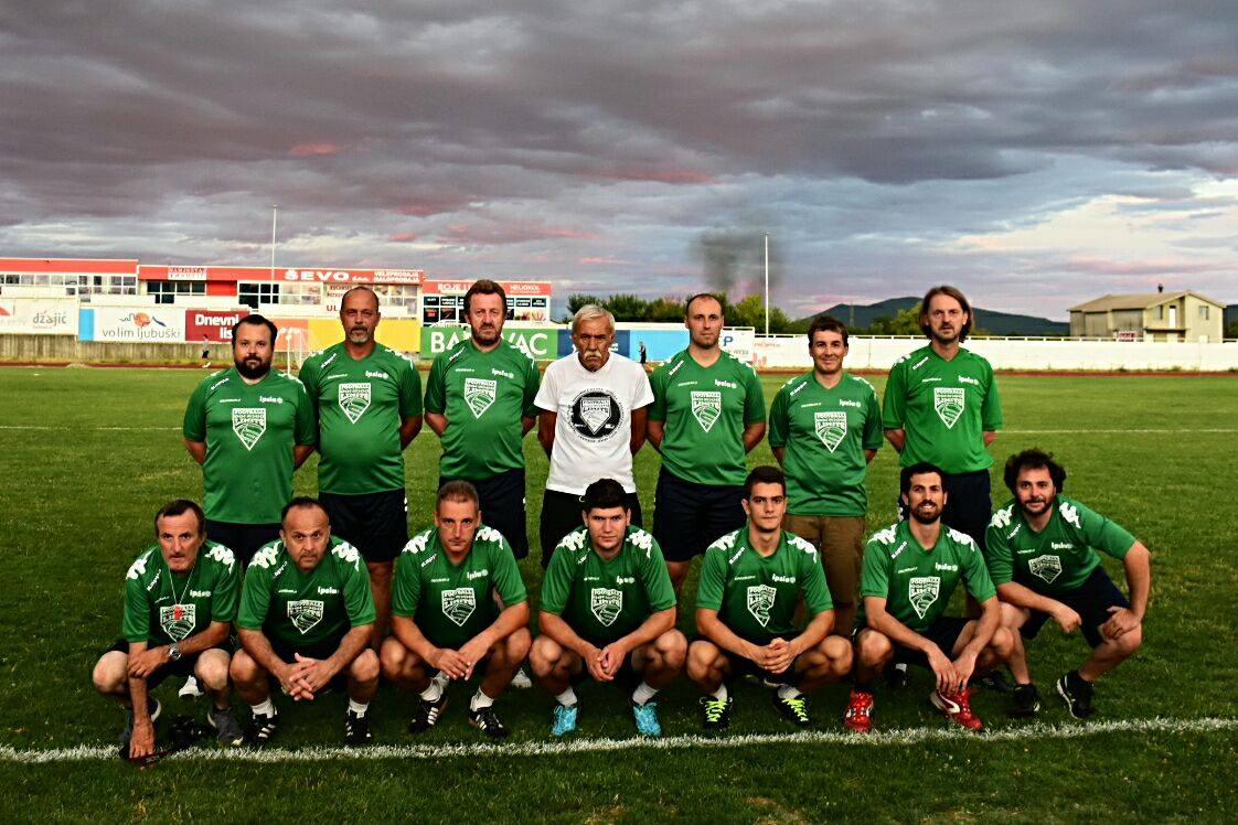Il team di FNL17 a Ljubuški
