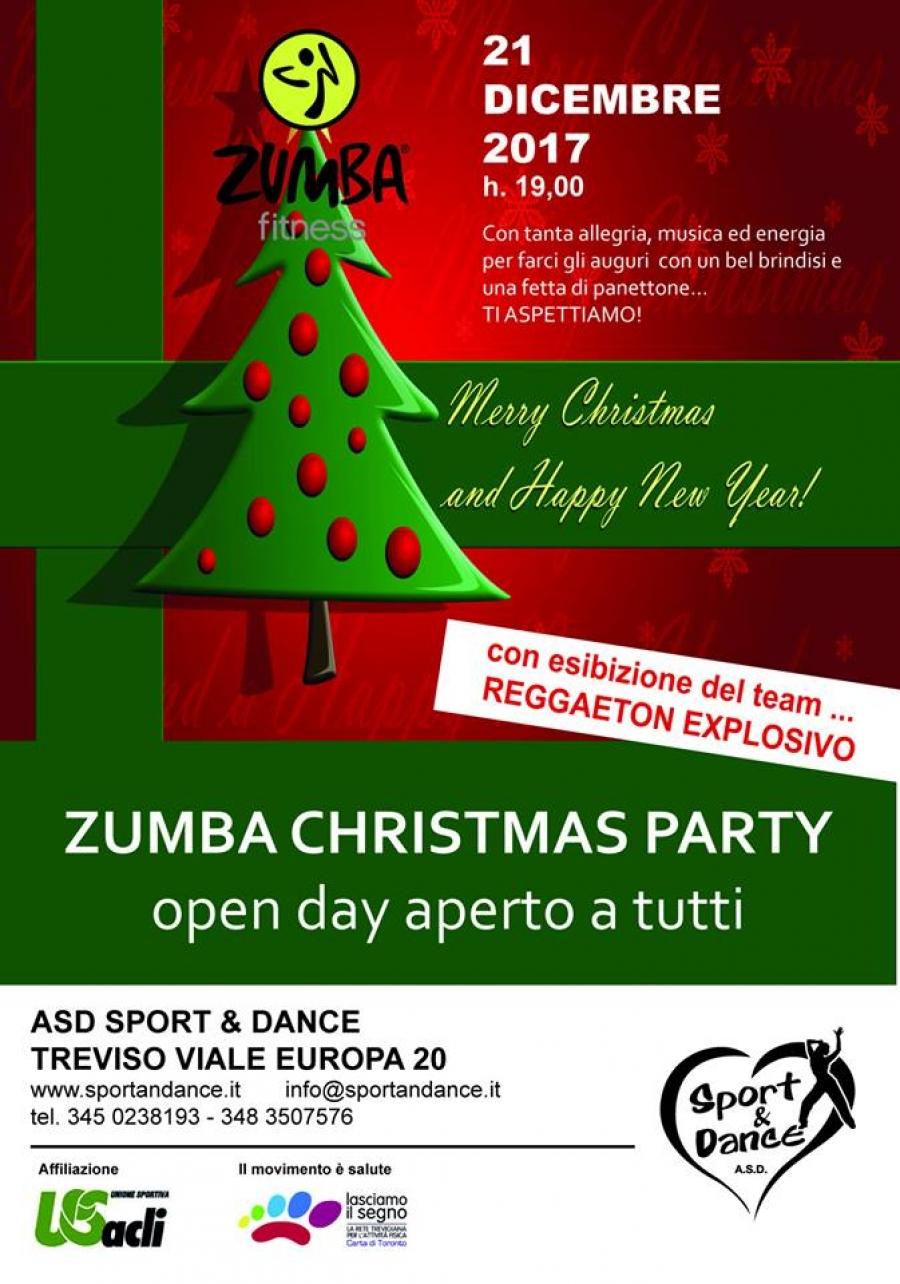 Zumba Christmas Party con l\'Asd Sport & Dance