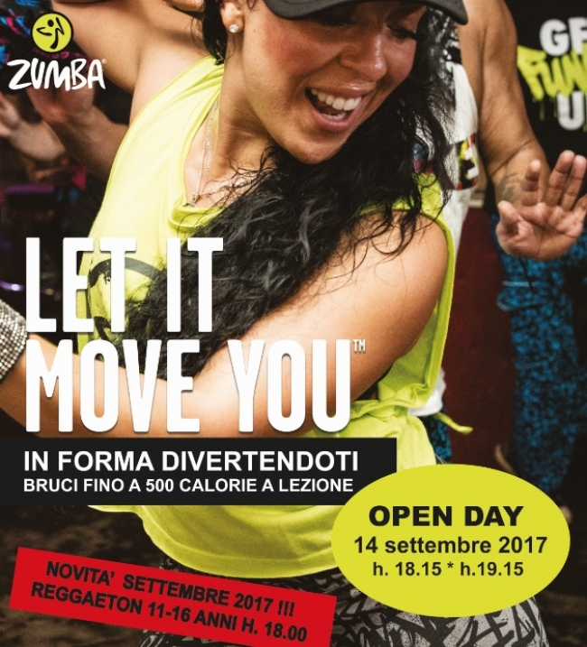 Open day Zumba 14.09 a Treviso