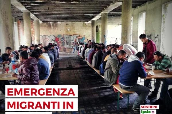 Emergenza migranti in Bosnia: Ipsia Acli raccoglie donazioni