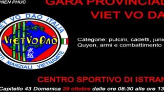 Gara di Viet Vo Dao 29 ottobre ad Istrana