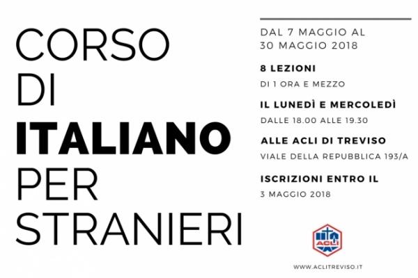 Parte l'XI edizione del corso di italiano per stranieri