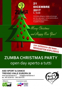 Zumba Christmas Party con l'Asd Sport & Dance