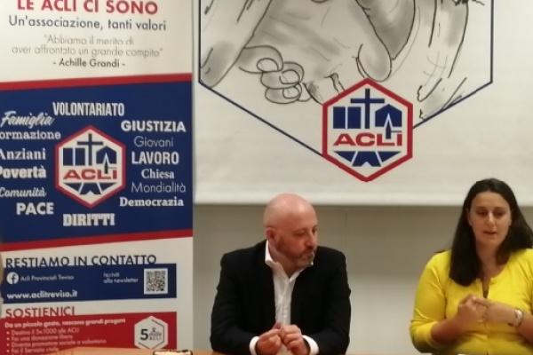 E' Alessandro Pierobon il nuovo presidente delle Acli di Treviso