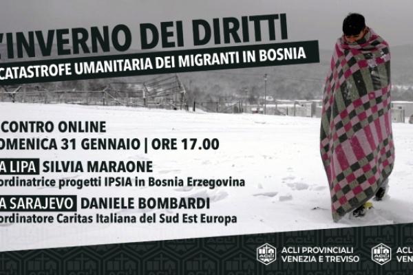 L'inverno dei diritti. Evento online sui Balcani il 31 gennaio