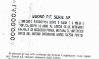 Buoni postali serie BA-1998
