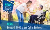 Bonus 1000 euro per colf e badanti